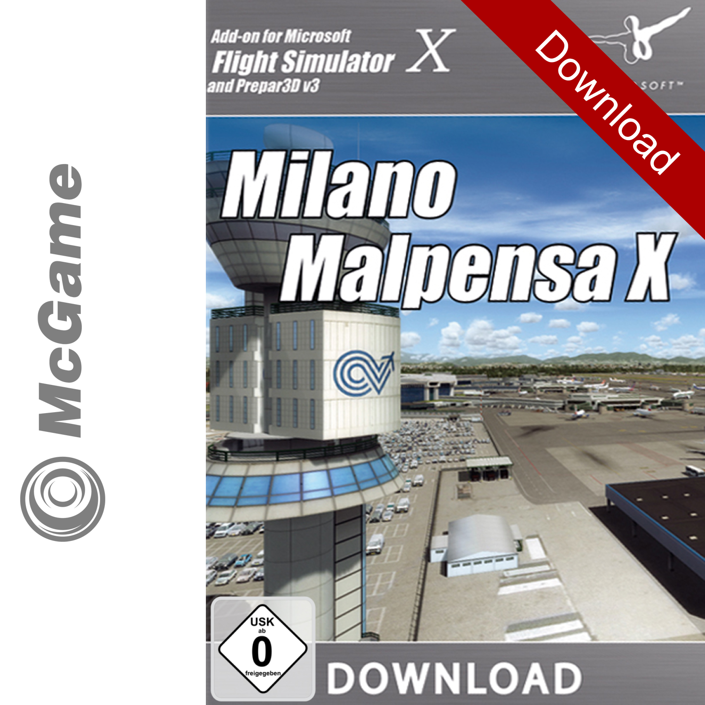 Details zu Flight Simulator X (FSX) Mailand Malpensa X Addon | PC Download  | Neu