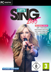 Packaging of Let's Sing 2016 [PC]