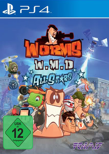 Verpackung von Worms Weapons of Mass Destruction (Worms W.M.D) [PS4]
