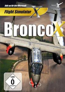 Verpackung von FSX Bronco X [PC]