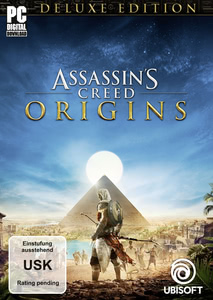 Verpackung von Assassin's Creed Origins - Deluxe Edition [PC]