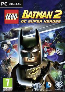 Packaging of LEGO Batman 2 - DC Super Heroes [PC]