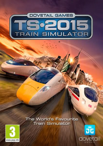 Packaging of Dovetail Games Train Simulator 2015 [PC]