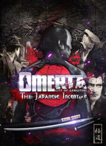 Packaging of Omerta City of Gangsters - The Japanese Incentive (DLC) [PC]