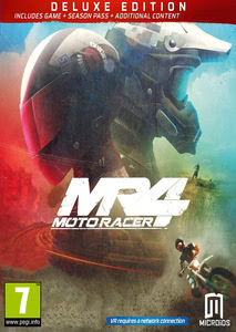 Packaging of Moto Racer 4 - Deluxe Edition [PC]