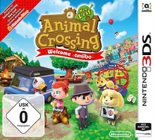 Verpackung von Animal Crossing: New Leaf Welcome amiibo [3DS]