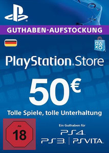 Verpackung von PlayStation Network Code 50 Euro [PS3 / PS4]