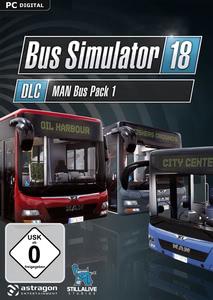 Verpackung von Bus Simulator 18 MAN Bus Pack 1 [PC]
