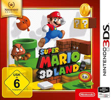 Verpackung von Super Mario 3D Land Selects [3DS]