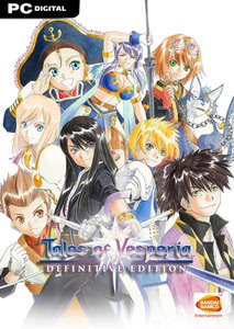 Packaging of Tales of Vesperia Definitive Edition [PC]