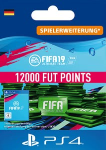 Verpackung von Fifa 19 12000 FUT Points Pack - Ultimate Team [PS4]