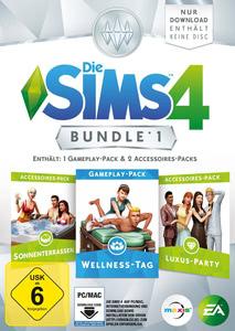 Verpackung von Die Sims 4 DLC Bundle 1 [PC / Mac]