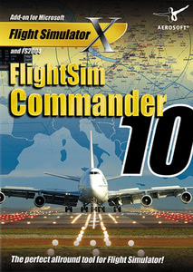 Packaging of FSX FlightSim Commander 10.0 [PC]