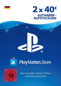 Verpackung von PlayStation Network Code 80 Euro [PS3 / PS4]