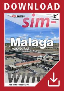 Packaging of Prepar3D V4 Sim-wings - Malaga professional [PC]
