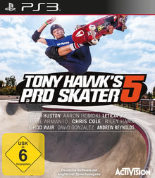 Verpackung von Tony Hawk's Pro Skater 5 [PS3]