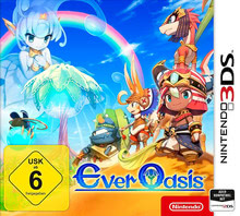 Verpackung von Ever Oasis [3DS]