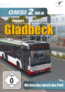 Verpackung von OMSI 2 AddOn Projekt Gladbeck [PC]