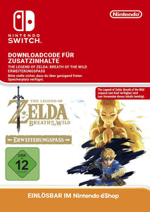 Verpackung von The Legend of Zelda: Breath of the Wild Erweiterungspass [Switch]