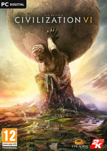 Emballage de Sid Meier's Civilization VI [PC]