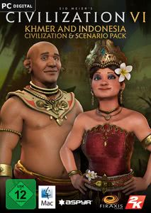 Verpackung von Sid Meier's Civilization VI Khmer and Indonesia Civilization & Scenario Pack [Mac]