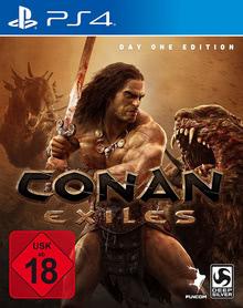 Verpackung von Conan Exiles Day One Edition [PS4]