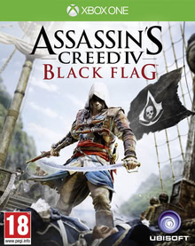Verpackung von Assassin's Creed 4: Black Flag (PEGI AT) [Xbox One]