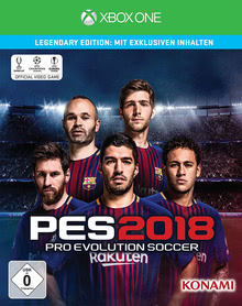 Verpackung von Pro Evolution Soccer 2018 Legendary Edition [Xbox One]