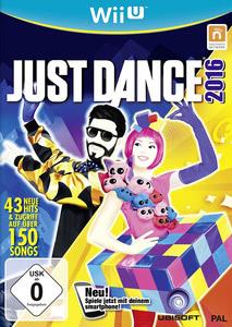 Verpackung von Just Dance 2016 [Wii U]