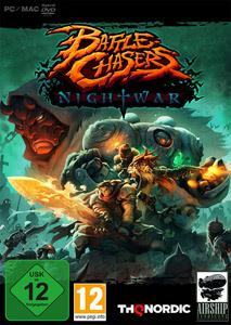 Verpackung von Battle Chasers: Nightwar [PC]