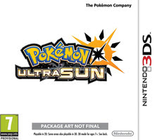 Packaging of Pokémon Ultra Sun [3DS]