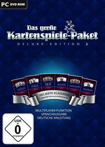 Verpackung von Das große Kartenspiele-Paket 2: Deluxe-Edition [PC]