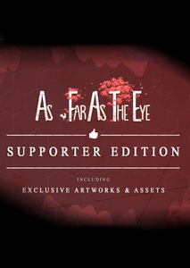 Verpackung von As Far As The Eye - Supporter Edition [PC]