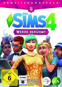 Verpackung von Die Sims 4 Werde berühmt [PC / Mac]