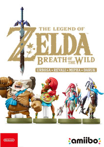 Verpackung von amiibo - The Legend of Zelda Collection Recken Set (Breath of the Wild) [3DS / Wii U / Switch]