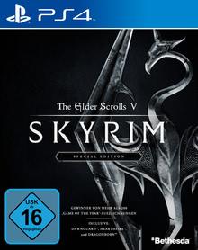 Verpackung von The Elder Scrolls V: Skyrim Special Edition [PS4]