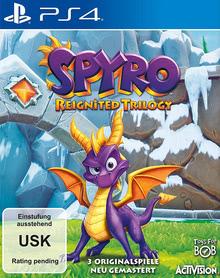 Verpackung von Spyro Reignited Trilogy [PS4]