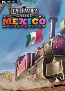 Packaging of Railway Empire Mexico [PC]