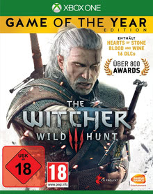 Verpackung von The Witcher 3: Wild Hunt - Game of the Year Edition [Xbox One]
