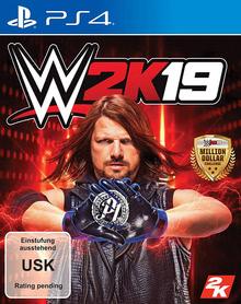 Verpackung von WWE 2K19 [PS4]