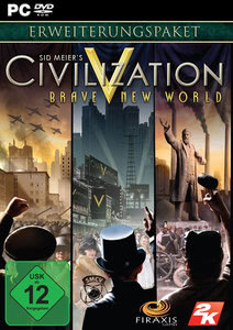 Verpackung von Civilization V - Brave New World Add-On [PC]