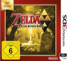 Verpackung von The Legend of Zelda: A Link Between Worlds - Nintendo Selects [3DS]