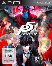 Verpackung von Persona 5 [PS3]