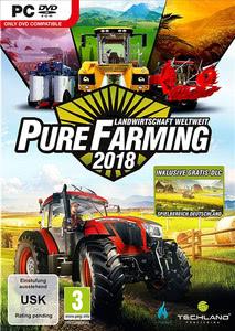 Verpackung von Pure Farming 2018 - Landwirtschaft weltweit D1 Edition [PC]