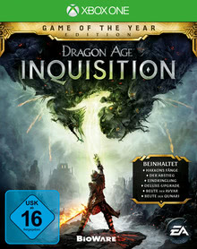 Verpackung von Dragon Age 3: Inquisition - Game of the Year Edition [Xbox One]