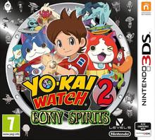 Packaging of YO-KAI WATCH 2: Bony Spirits [3DS]