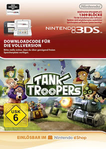 Verpackung von Tank Troopers [3DS]