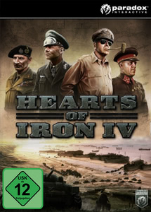 Packaging of Hearts of Iron 4: Cadet Edition [PC]