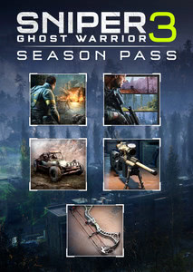 Packaging of Sniper Ghost Warrior 3 Season Pass [PC]