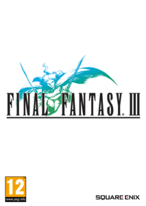Packaging of FINAL FANTASY III [PC]
